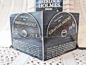 """Hörbuch zu """"Der Mann, der Sherlock Holmes tötete"""" von Graham Moore mit der Synchronstimme von David Nathan"""