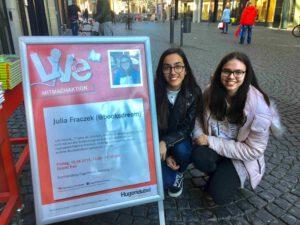 Kooperation mit Hugendubel in Frankfurt am Main